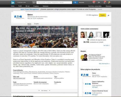 ejemplo de uso de linkedin en marketing industrial